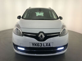 2013 63 RENAULT G SCENIC DYN T-T BOSE+ DIESEL 1 OWNER SERVICE HISTORY FINANCE PX