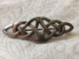 Celtic Silver Pin