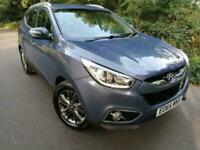 64 REG HYUNDAI iX 35 CRDI SE PREVIOUS OWNER, FSH - 6 MONTHS WARRANTY INCLUDED