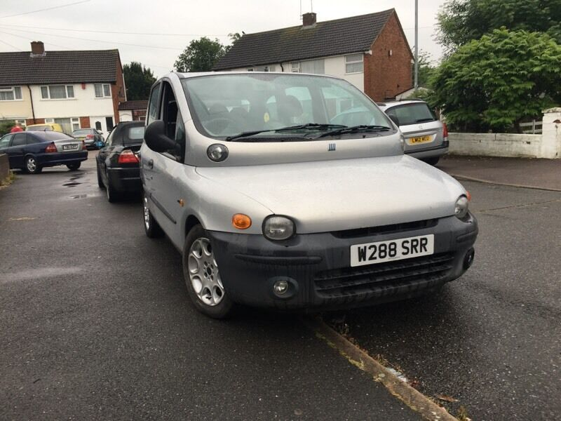 fiat multipla 2000 1 9 diesel 6 seater mpv mot june 2017 in luton bedfordshire gumtree. Black Bedroom Furniture Sets. Home Design Ideas