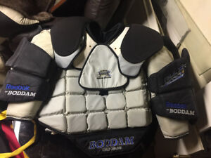 Boddam lacrosse goalie uppers
