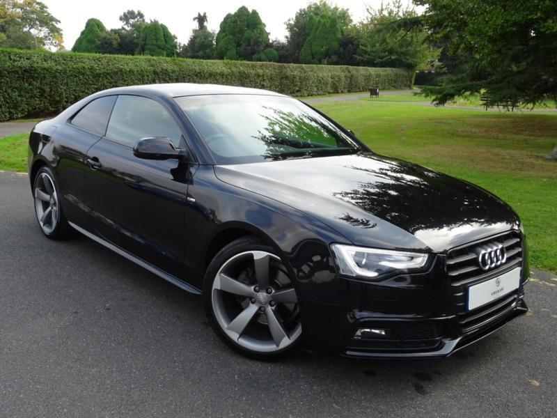 audi a5 2 0 tdi s line black edition multitronic coupe 2013 13 in redbridge london gumtree. Black Bedroom Furniture Sets. Home Design Ideas
