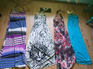 4 long dresses for only$10