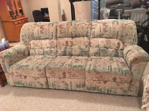 Sofa, 3 seats, 2 recline