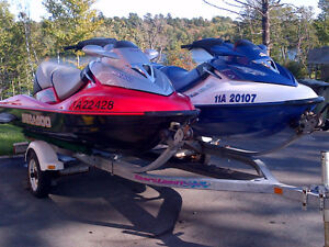 2 SEADOO'S WITH TRAILER IN EXCELLENT CONDITION $13500 OBO