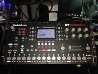 ELEKTRON OCTATRACK  MINT CONDITION  CUSTOM STAND FOR TWO BOXS