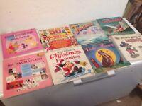 Job lot of vintage Disney records