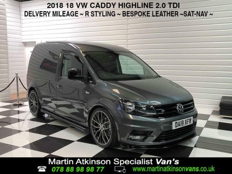 182d4ab570 2018 18 Volkswagen Caddy 2.0TDI Highline Indium Grey 102ps R styling pack