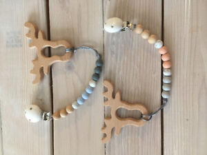 Mom and baby teething accessories