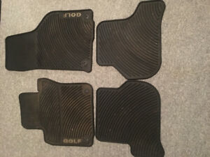2010 golf winter mats