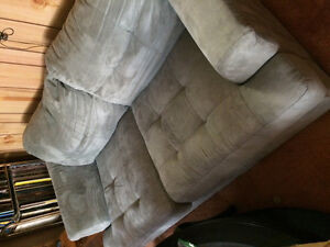 Two microfibre couches
