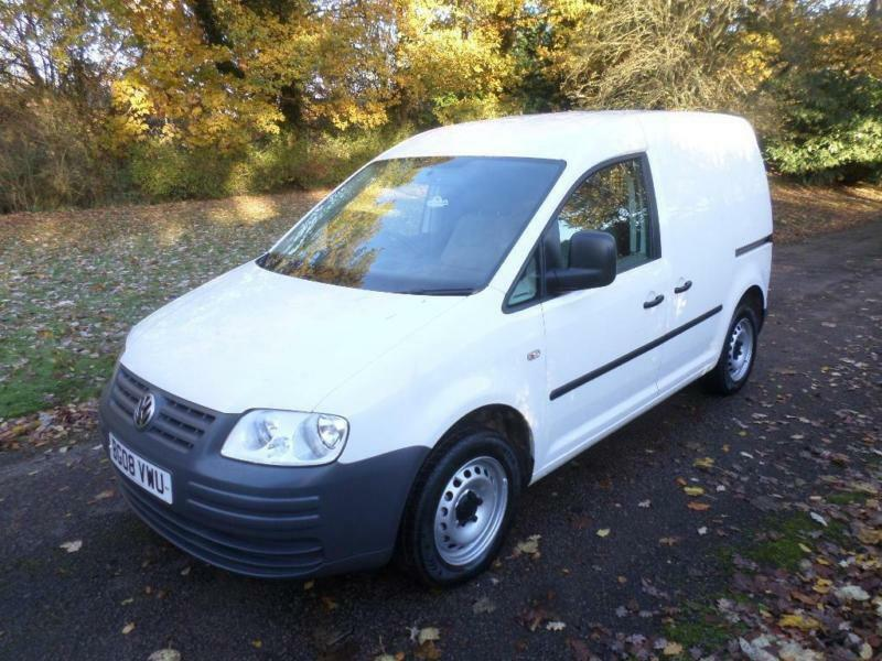 Volkswagen Caddy 1.9 TDI PD 104PS C20 08 REG 101K