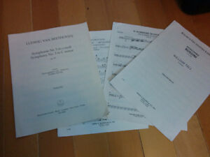 Various cello sheet music and books for sale