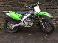 Kawasaki kx450f kxf 2008 not yzf crf rmz sxf ktm