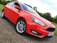 2015 FORD FOCUS 1.0 T 125 EcoBoost Zetec 5 DOOR**LOW MILES**FSH**£20 ROAD TAX