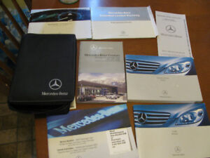 MERCEDES BENZ B CLASS OWNERS MANUAL /TRAVEL CASE