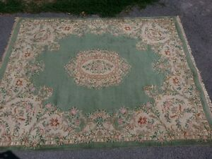 Approx. 7x9 heavy wool carpet for sale