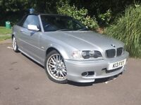 BMW 330ci M sport Convertible Manual low mileage swap