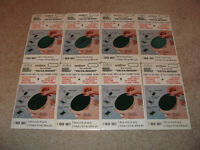 8 sheets of self adhesive velour backing