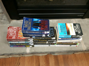 Author David Baldacci Books