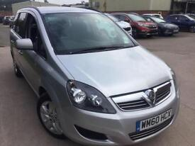 BAD CREDIT CAR FINANCE AVAILABLE 2011 VAUXHALL ZAFRIA 1.8i Exclusiv