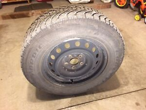 SET OF 4 WINTER TIRES - 215/65R16