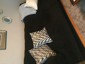 Sofa and loveseat slip covers
