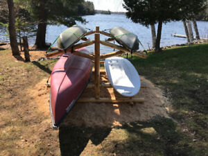 Reduced - End of Season Sale - Four Paddle Sports Support Rack