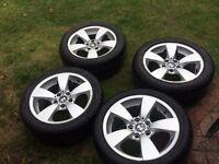 BMW E60 alloys on Tyres