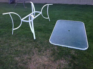2 patio tables