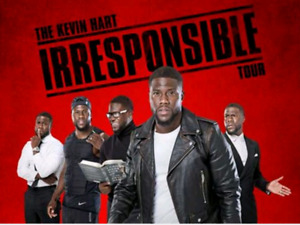 Kevin Hart Tickets The Irresponsible Tour