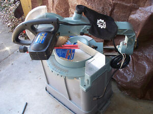 "King #8372 sliding compound mitre saw 10"" great condition"