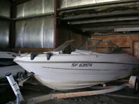 1998 boat, motor & trailer