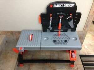 Children's Toy Workbench & Tool Set