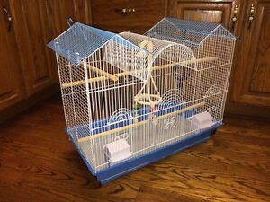 Large bird cage in excellent condition.