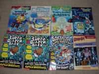 Sponge Bob/Adventures of Super Daiper Baby books