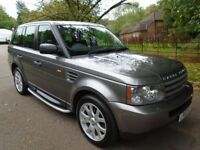 Land Rover Range Rover Sport 2.7 TDV6 S (grey) 2008