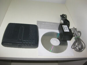 Thomson SpeedTouch 516 DSL modem - with all accessories