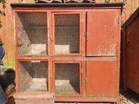 Rabbit hutch double tier needs work