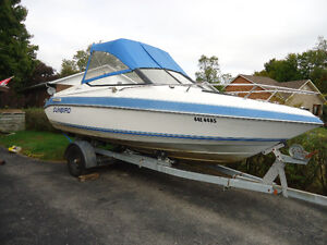 Great family Boat with trailer