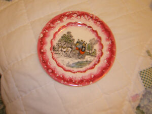 CHINA HAND-PAINTED  WATER-OILED PLATE OLD Kingston Kingston Area image 1