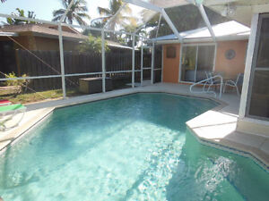 3 Bedroom Pool Home on Canal, Steps from the Beach