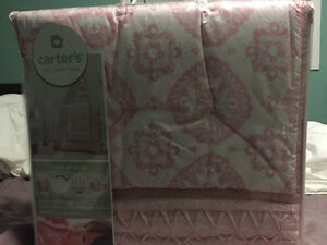 """Carters """"heart of gold"""" bedding"""