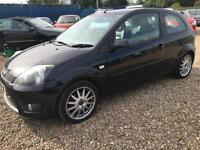 2008 FORD FIESTA 1.6 TDCi Zetec S 3dr FULL LEATHER CAM BELTED GBP30 ROAD TAX