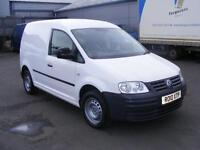 2010 VOLKSWAGEN CADDY 1.9TD C20 Panel Van