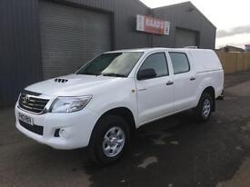 2013 Toyota Hilux 2.5 D4-D HL2 Double Cab 4x4 Diesel Pickup *93k*