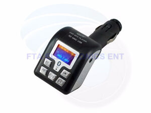 Bluetooth FM Transmitter MP3 Player SD USB Reader For All Mobile