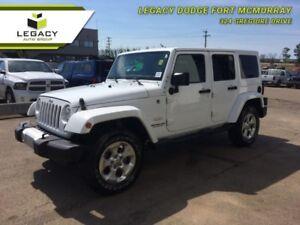 2014 Jeep Wrangler Unlimited Sahara  -  A/C - Low Mileage