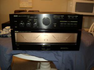 philips power amp and preamp great shape