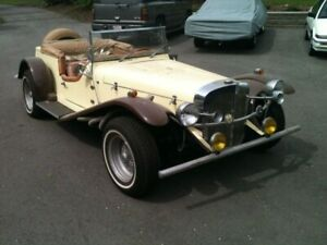I have a 1929 Mercedes kit car with a 4 cylinder VW engine. All
